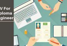 Diploma engineer CV