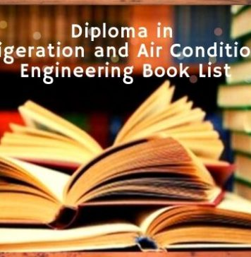 Refrigeration and Air Conditioning Technology book list