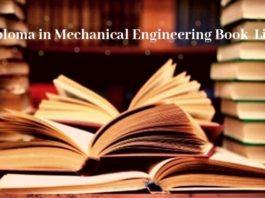mechanical engineering book list