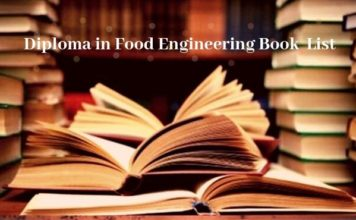 Food Technology book list