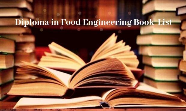 Food Technology book list