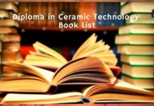 Ceramic Technology book list