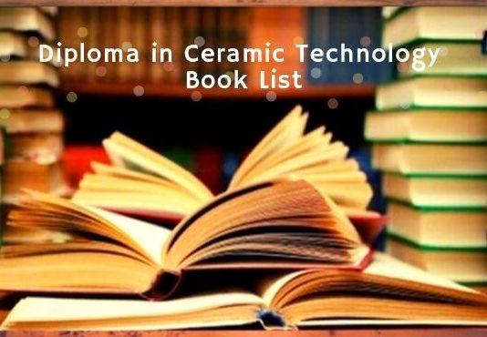 Ceramic Technology book list